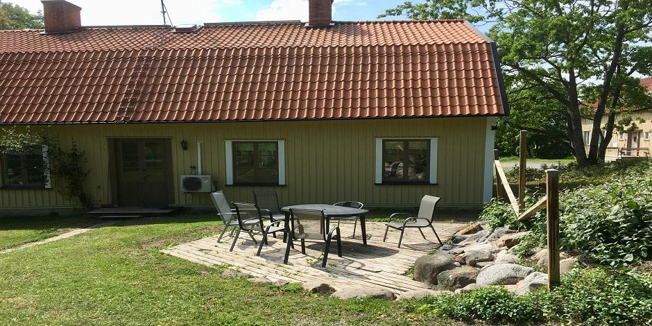 Hyra stuga på gård i Roslagen